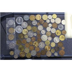 Lot of Misc Coins & Tokens