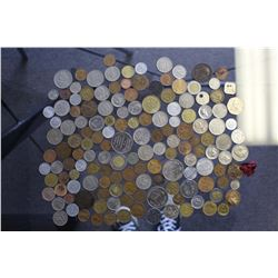 Lot of World Coins & Tokens