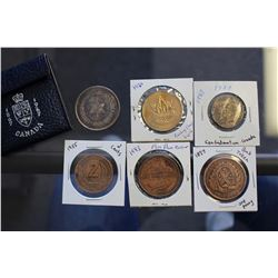 Lot of Various Coins & Tokens
