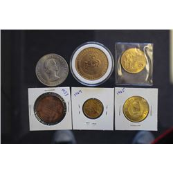 Lot of Various Collectible Coins & Tokens