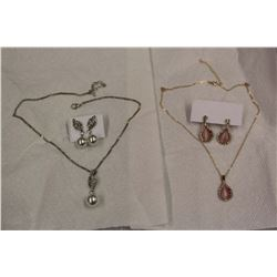 Moonstone & Pearl Sets (2)