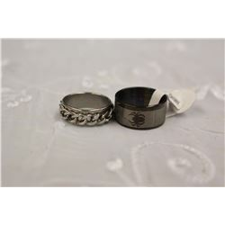Stainless Steel Rings (2)