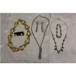 3 Silver & Gold Tone Sets