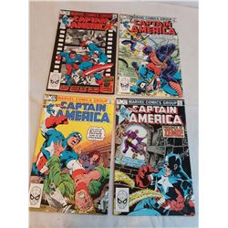 Lot Of Comic Books, Captain America (4)