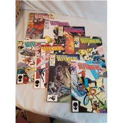 Lot Of Comic books, The New Defenders (8) (145-152)