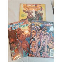 1982 Basically Strange #1 Special Collectors Edition W/ 2 Danger Girl Comics