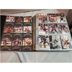 Album Of Hockey Cards, Pro Set, 1991 and 1997