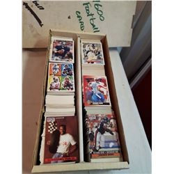 Box Of Football Cards (Approx 1600 Cards)