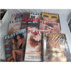 1982 Playboy Magazines, Missing July