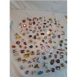 100+ Collectors Pins