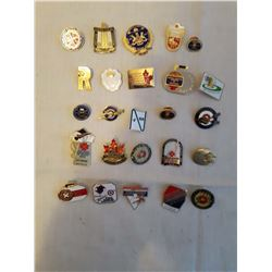 25 Old Collector Curling Pins