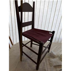 Soft Seat Short, Butter Churning Chair
