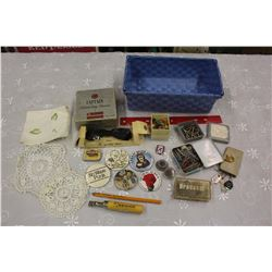 Lot of Vintage Misc (Pins, Shaver, Bow Tie, Etc)