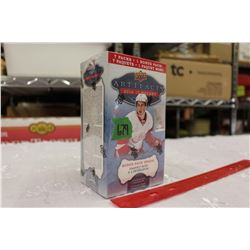 Sealed box of 2016-17 Upper Deck Artifacts Hockey Cards, 8 Packs