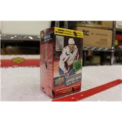 Sealed Box of 2015-16 Upper Deck Series 1 Hockey Cards, 10 Packs