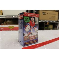Sealed box of 2015-16 Upper Deck Series 2 Hockey Cards; 12 Packs