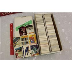 Lot of 1,600 Hockey Cards