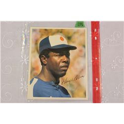 "Hank Aaron 8"" x 10"" photo"