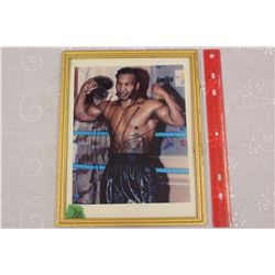 Mike Tyson – Autographed framed picture