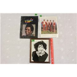 "Annette Bening Autographed 8""x10"" Photo, Charley Pride Tour Booklet& The Statler Brothers Fan Club P"