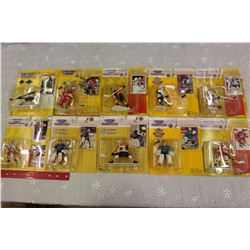 Lot of 10 Starting Line-up Hockey Figures: Mark Messier (Rookie)