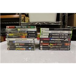Lot of Video Games: PS3, PSP, XBOX 360, PS 2, Nintendo Gamecube