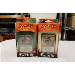 Lot of 2 - Magic the Gathering, Dragons of Tarkir: Intro Packs