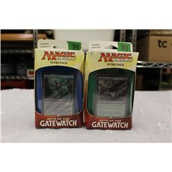 Lot of 2 - Magic the Gathering, Oath of the Gatewatch: Intro Packs