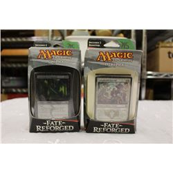 Lot of 2 - Magic the Gathering, Fate Reforged: Intro Packs