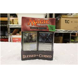 Magic the Gathering, Blessed vs Cursed – Duel Decks