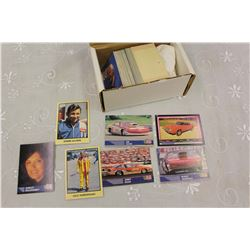 Lot of 190 Auto Racing & Muscle Car Collector Cards