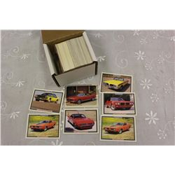 Lot of 190 Chevy Set & Muscle Car Collector Cards