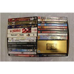 Lot of DVD Movies & TV Boxsets: New & Used
