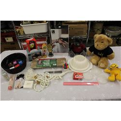 Lot of Misc (Teddy Bears, Tree&Shrub Protection, Photo Displays, Etc)