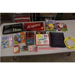 Lot of Games& Children Books