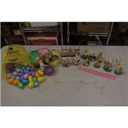 Lot of Easter Related Decorations