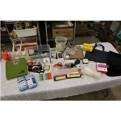 Huge Lot of Misc (Scale, Glassware, Kitchen Related, Etc)