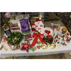 Huge Lot of Christmas Related Decorations