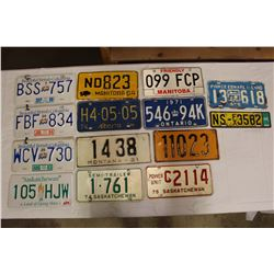 Lot of Assorted License Plates (Some Duplicates)