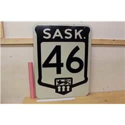 "Sask Highway 46 Sign (24""x18"")"