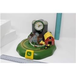 "John Deere Model ""H"" Tractor Sound Alarm Clock (NIB)(Working)"