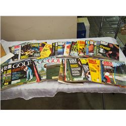 Lot Of 1970-80 Golf Magazines