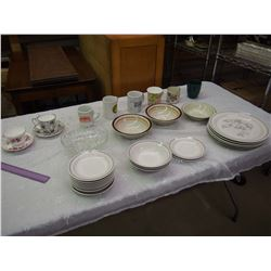 Lot Of Dishware