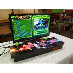Pandora's Box All In One Arcade System (645 Arcade Games) W/ RCA HDMI 27  TV