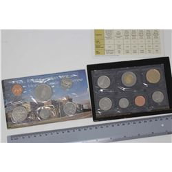 Royal Canadian Mint Coin Sets (2)(100 Yrs of RCMP & 2005 Special Edition Uncirculated)