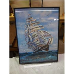 "The Salesman Ship Framed Print, 19""x25"""
