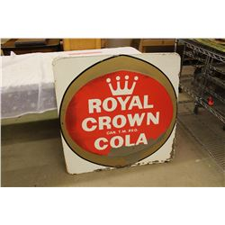 "Royal Crown Cola Sign, 1963, 35""x35"""