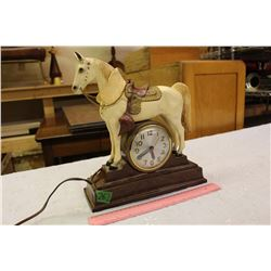 Horse Clock, Not Working