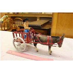 Vintage Red River Cart