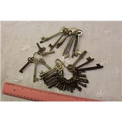 Lot Of Skeleton Keys